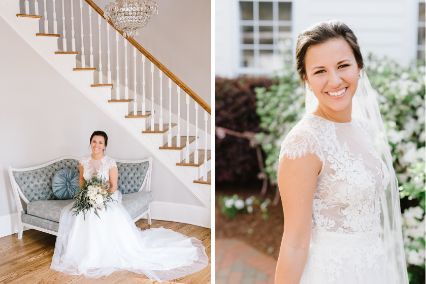 Highgrove Bridal Portraits in Fuquay by Kelsey Nelson Photography