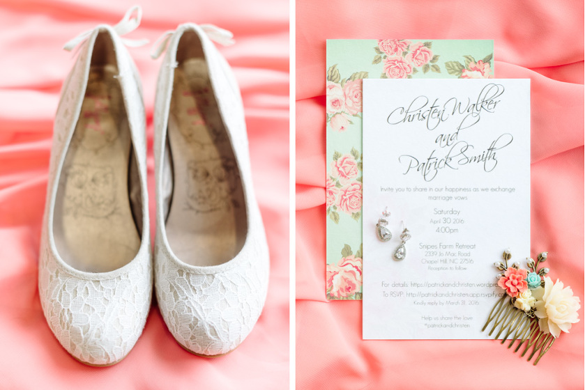 Chapel Hill Wedding at Snipes Farm Retreat by Kelsey Nelson Photography