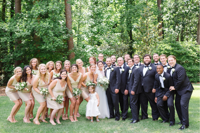 Backyard Pinehurst Wedding by Kelsey Nelson Photography